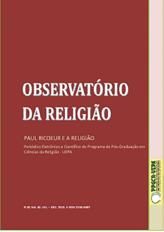 Visualizar v. 2 n. 2 (2015): Observatório da Religião. Paul Ricoeur e a Religião