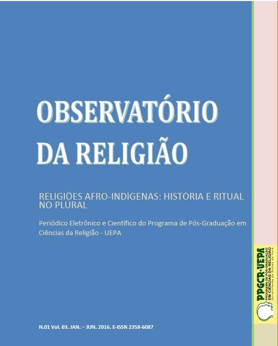 Visualizar v. 3 n. 1 (2016): Dossiê Religiões Afro-Indígenas: História e Ritual no Plural